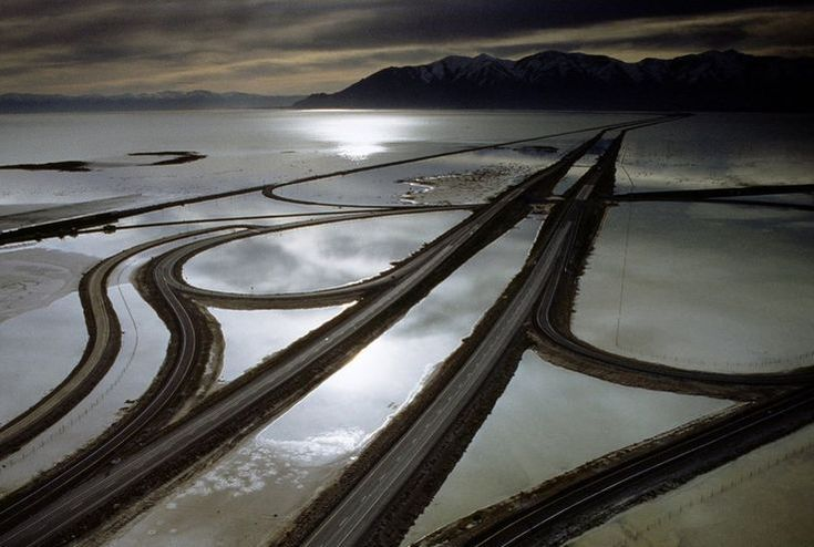 ​A Bridge or Causeway Across Utah Lake
